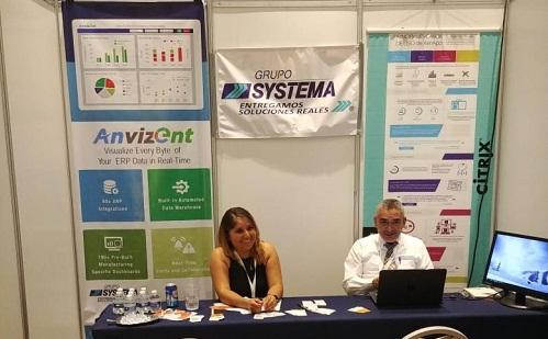 Anvizent at Entix2018, Mexico