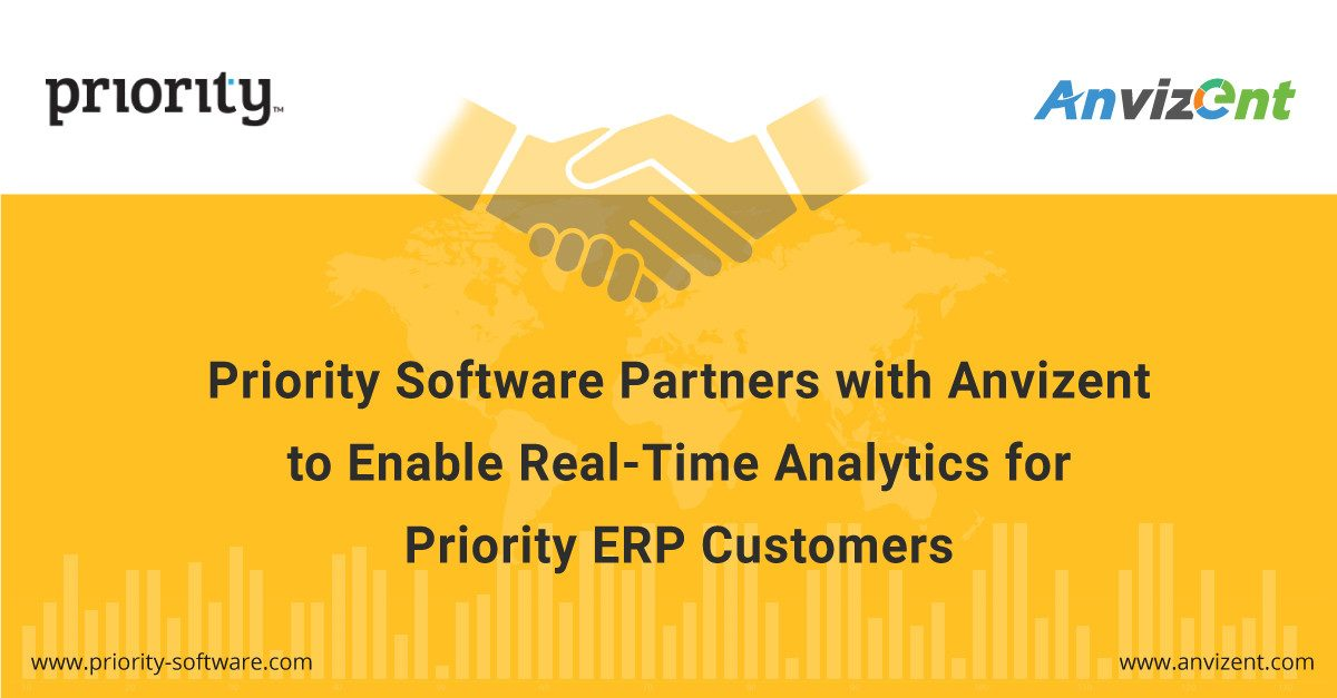 Priority Software Partners with Anvizent to Rapidly Enable Real-Time Analytics for Priority ERP Customers