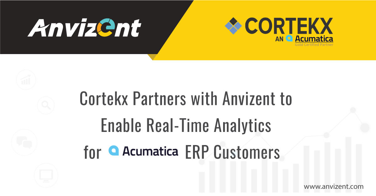 Anvizent Partners With Cortekx HGL, Inc. – an Acumatica Gold Certified Partner